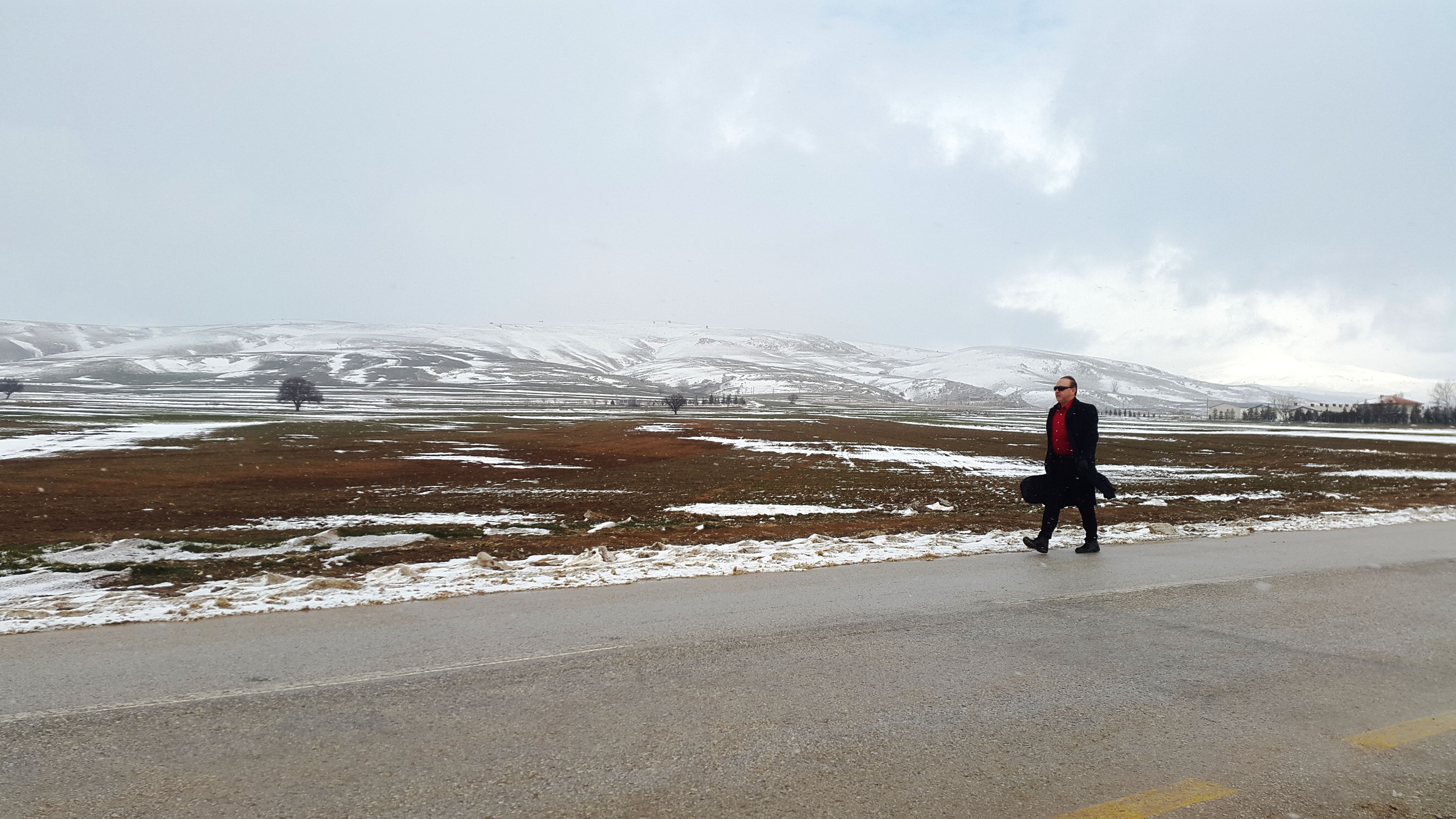 Village road between Ankara-Kırıkkale