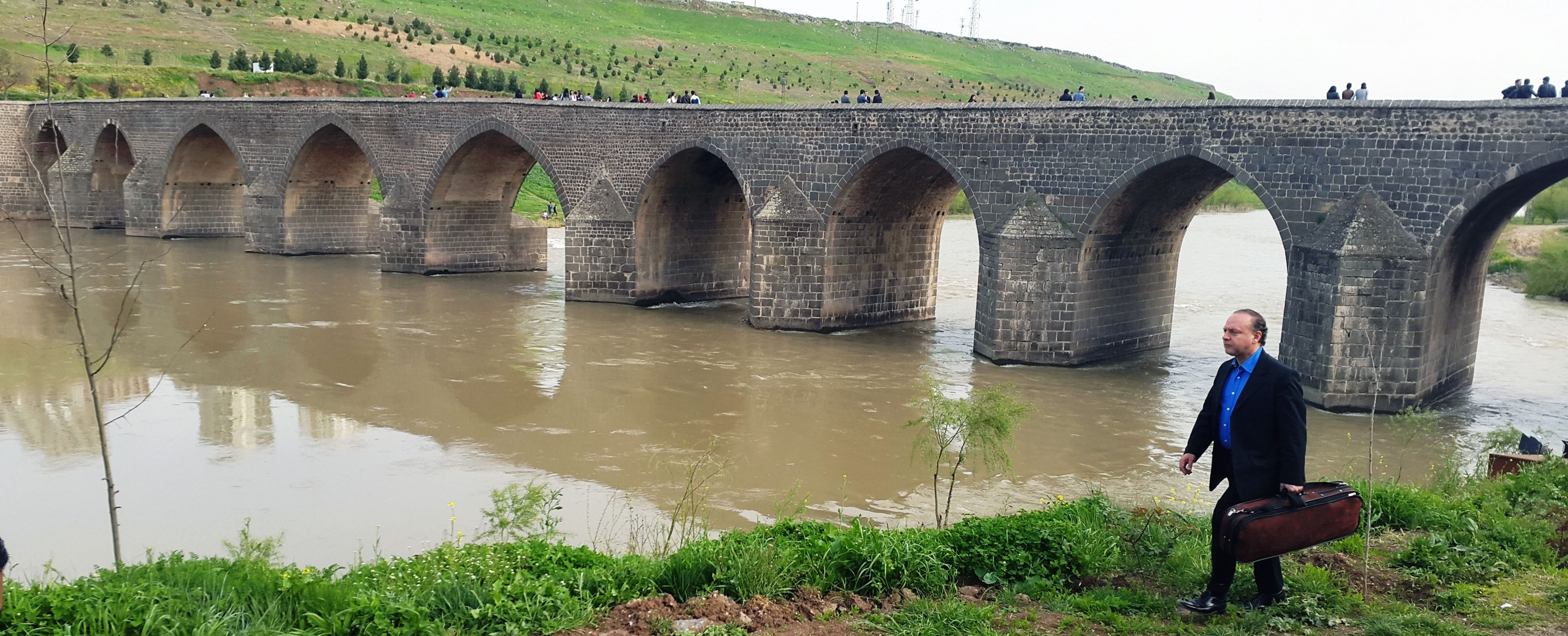 Ten-eyed Bridge on River Tigris, Diyarbakır
