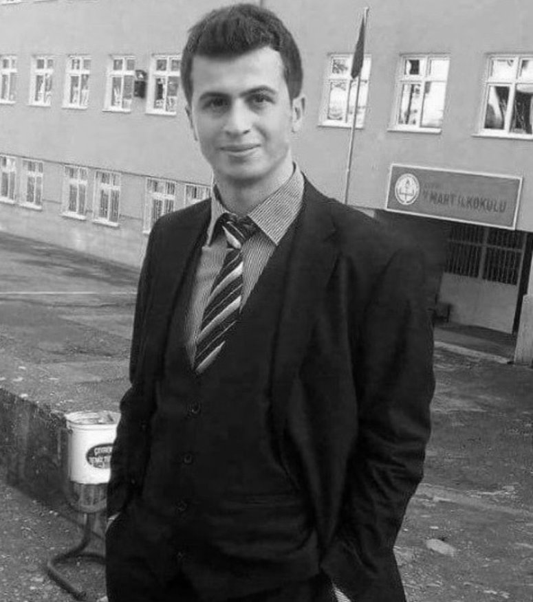 Necmettin Yılmaz, a young teacher was first kidnapped and later murdered by the PKK terrorists