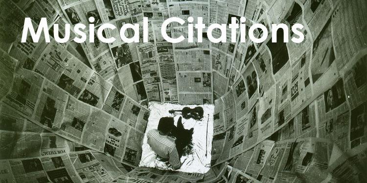 Musical Citations title